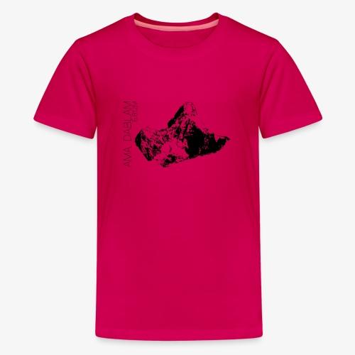 Mistress Dablam - Teenage Premium T-Shirt