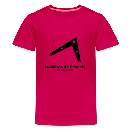 OVNI Lumieres de Phoenix - T-shirt Premium Ado