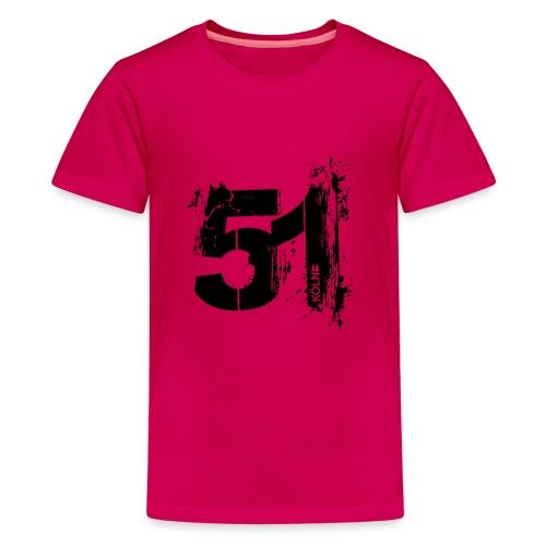 City_51_Köln - Teenager Premium T-Shirt