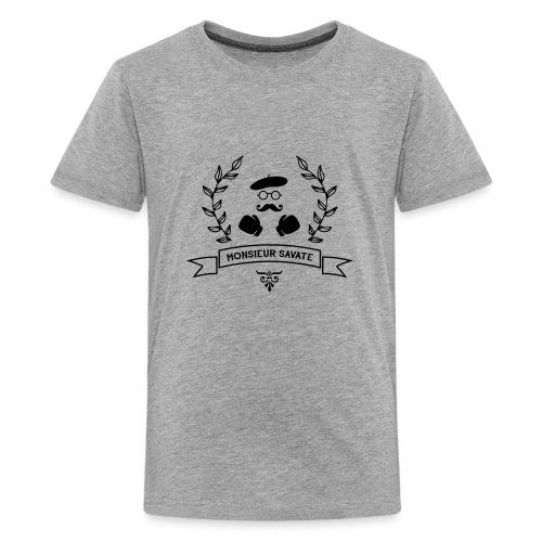 Monsieur Savate logo1 - T-shirt Premium Ado