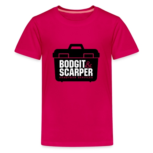 Bodgit & Scarper - Teenage Premium T-Shirt