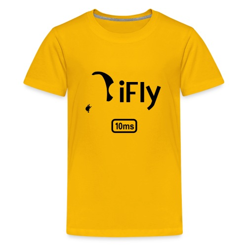 Paragliding iFly 10ms - Teenage Premium T-Shirt