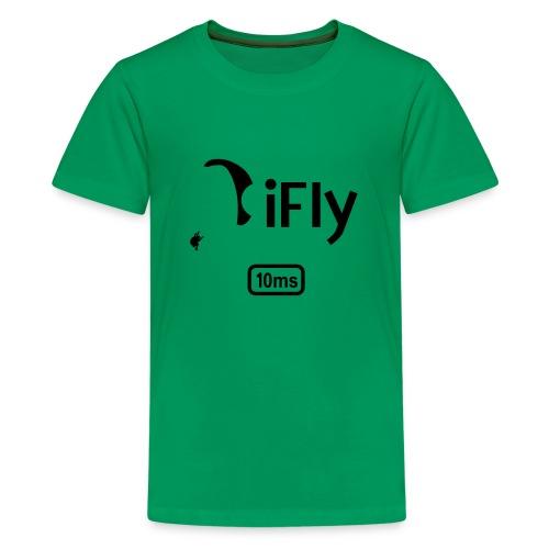 Paragliding iFly 10ms - Teenage Premium T-Shirt