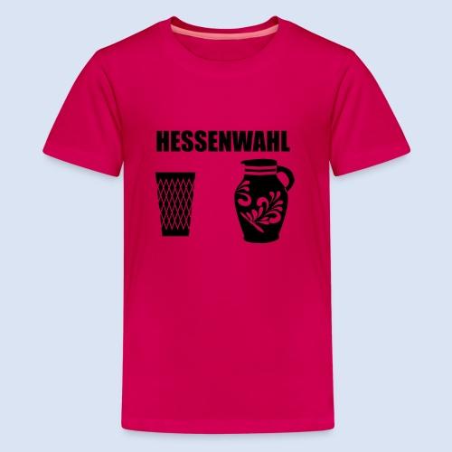 Hessenwahl Apfelwein - Teenager Premium T-Shirt