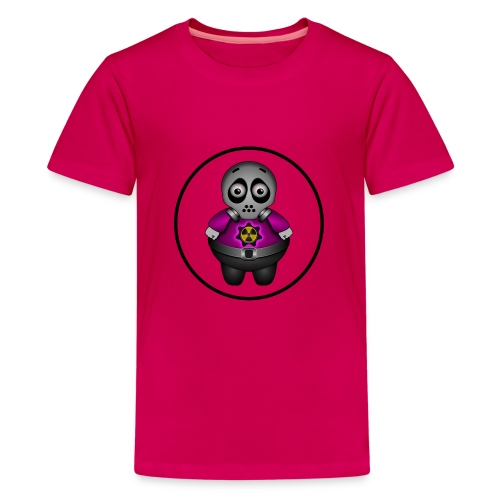 Radioactieve alien - Teenager Premium T-shirt