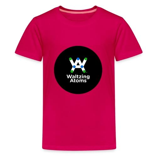 WA LOGO BATCH 400dpi png - Teenager Premium T-Shirt