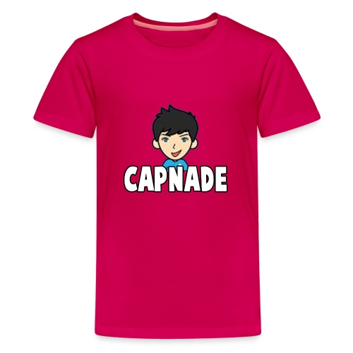 Basic Capnade's Products - Teenage Premium T-Shirt