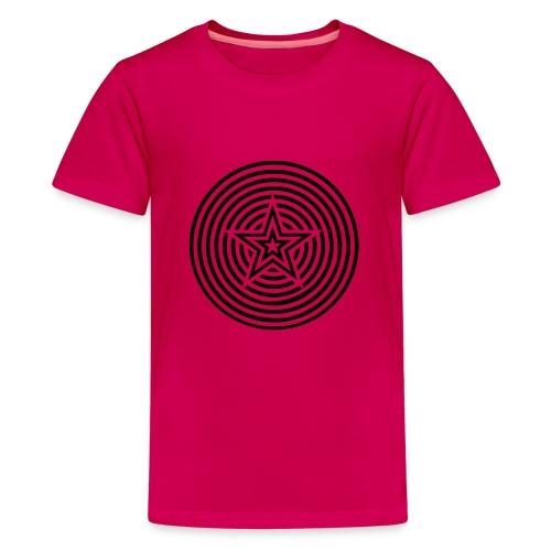 Star Circles - Teenage Premium T-Shirt