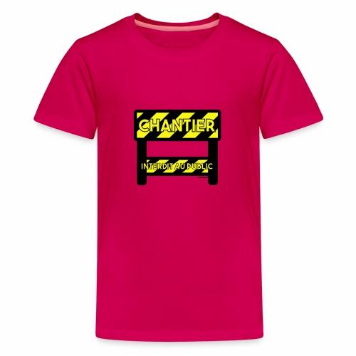 Werk in uitvoering - Teenager Premium T-shirt