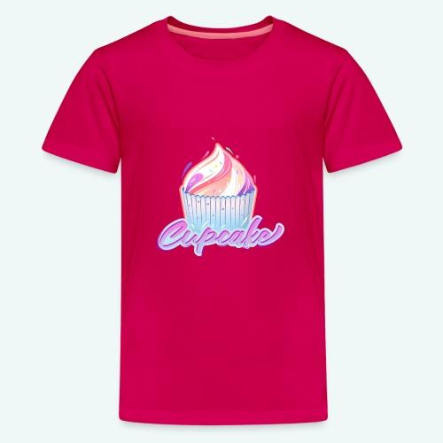 Cupcake - Teenager Premium T-Shirt