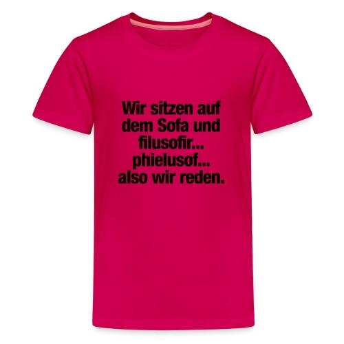 filusofiren - Teenager Premium T-Shirt