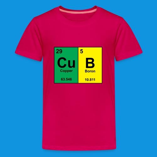 Science Cub Tee - Teenage Premium T-Shirt