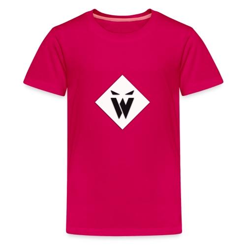 Wollefication T-Shirt Ny Loga - Premium-T-shirt tonåring