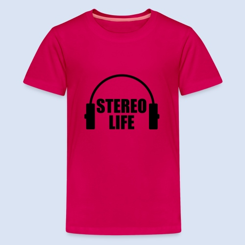 STEREO LIFE - Teenager Premium T-Shirt