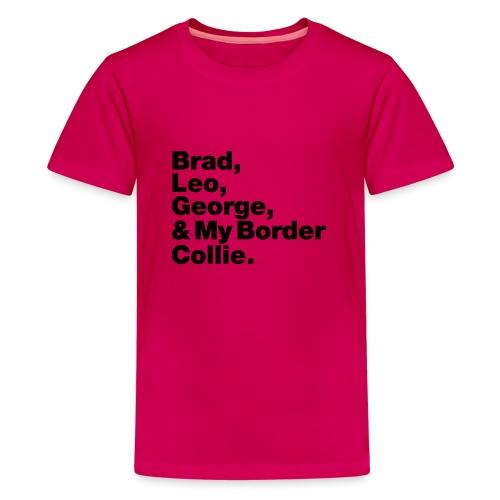 & My Border Collie - T-shirt Premium Ado