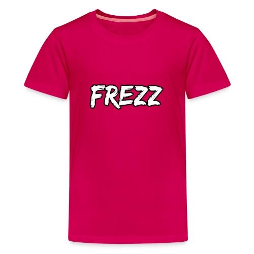 T Shirt FREZZ Noir&Blanc Classique (NOIR) - T-shirt Premium Ado