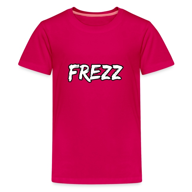 """T Shirt """"FREZZ"""" Noir&Blanc Classique (NOIR)"""