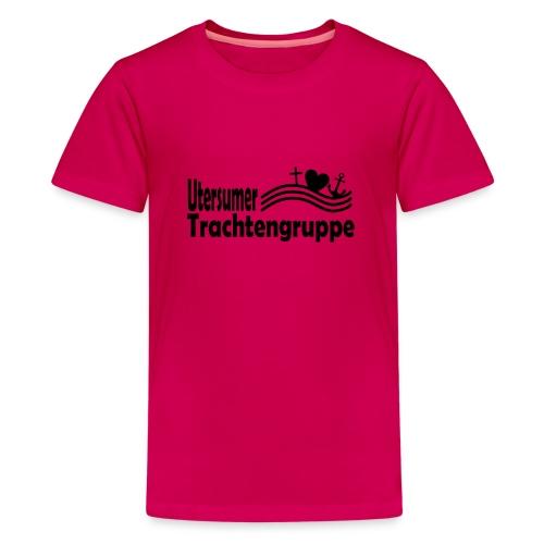 trachtengruppe logo - Teenager Premium T-Shirt