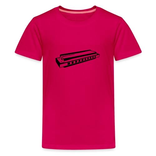 Harmonica - Teenage Premium T-Shirt