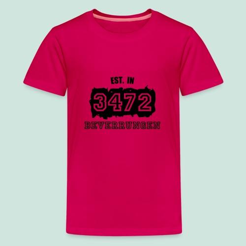 Established 3472 Beverungen - Teenager Premium T-Shirt