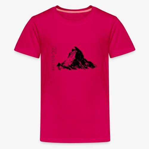 Matterhorn - Teenage Premium T-Shirt