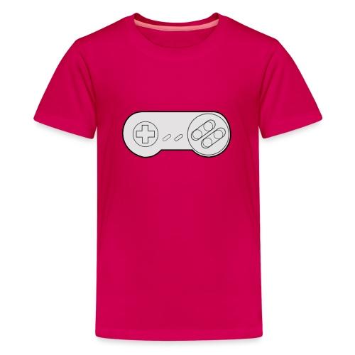Super NES controller design - Teenage Premium T-Shirt