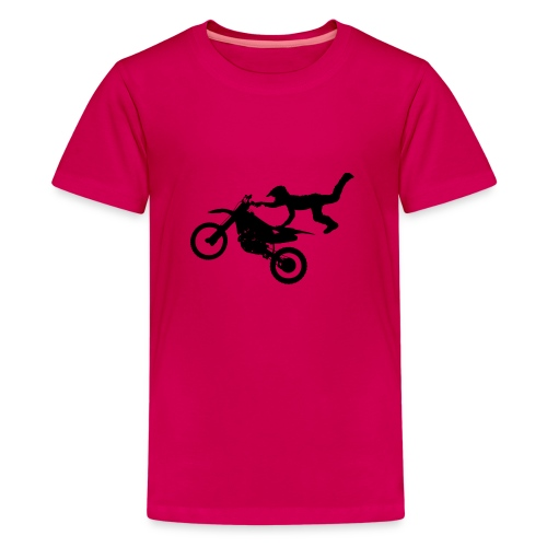 Motocross Bike Aerial Stunt - Maglietta Premium per ragazzi