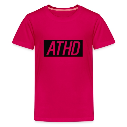 athd shirt logo - Teenage Premium T-Shirt