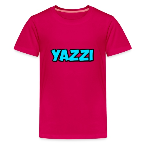 yazzi - Teenage Premium T-Shirt