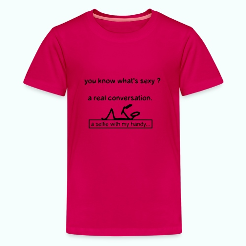 what's sexy v 1702410_13 - Teenager Premium T-Shirt