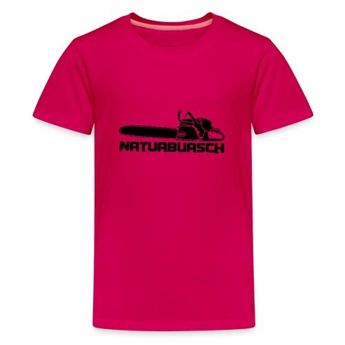 Natuabuasch Motorsäge - Teenager Premium T-Shirt