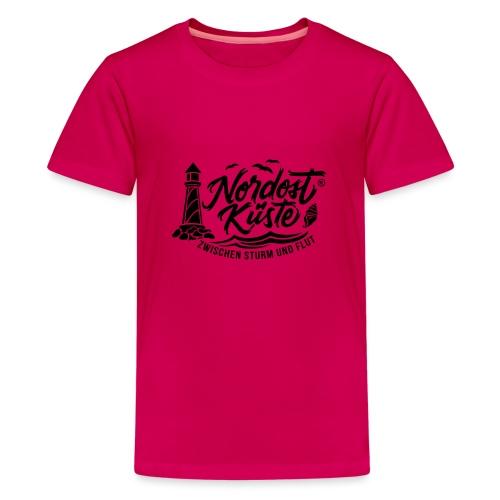 Nordost Küste Logo #6 - Teenager Premium T-Shirt