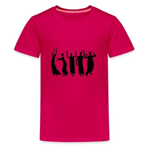 Eurythmie Figuren - Teenager Premium T-Shirt