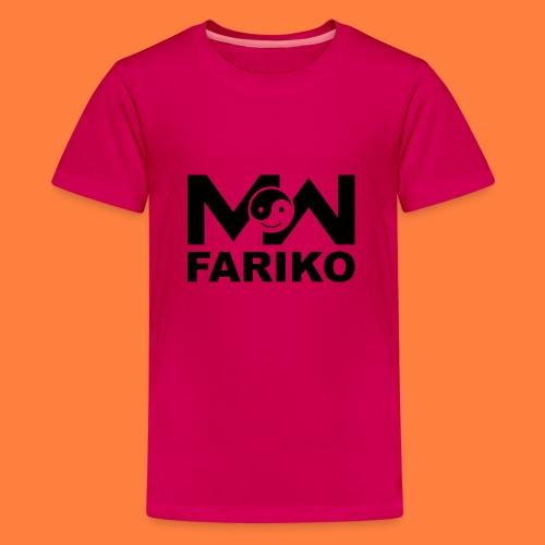 fariko mw black - Teenager Premium T-shirt