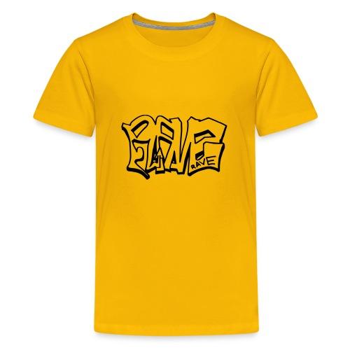 Rave graffiti - Teenage Premium T-Shirt