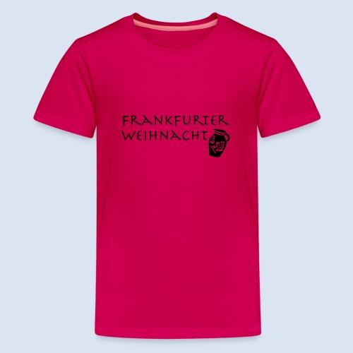 Frankfurter Weihnacht - Teenager Premium T-Shirt