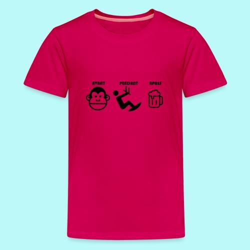 AVANT PENDANT APRES kitewindcorsica - T-shirt Premium Ado