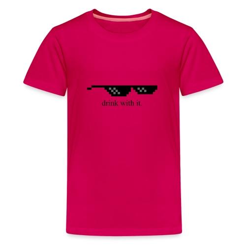 dwi png - T-shirt Premium Ado