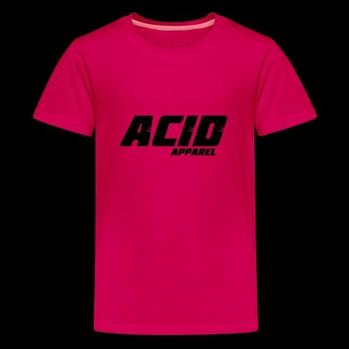 Acid Apparell Logo - Teenager Premium T-Shirt