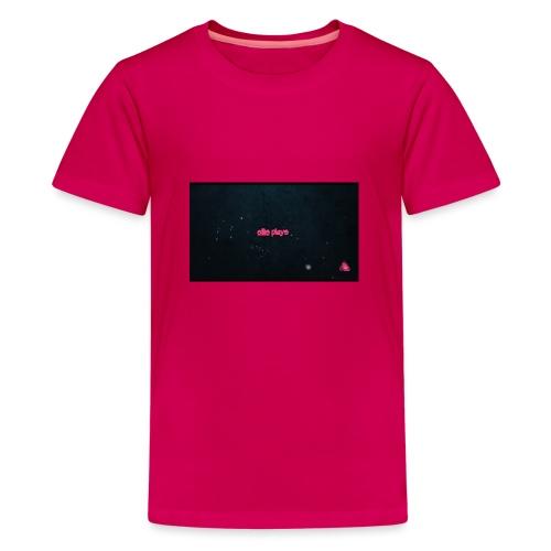 Ellis plays design merchandise - Teenage Premium T-Shirt