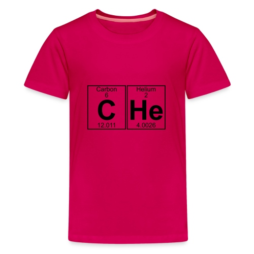 C-He (che) - Full - Teenage Premium T-Shirt