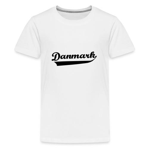 Danmark Swish - Teenager premium T-shirt