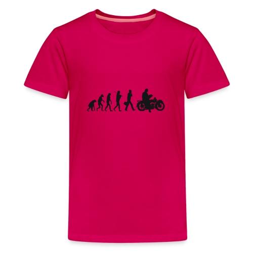 Evolution de l'homme - T-shirt Premium Ado