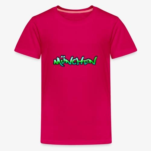 Gangster München - Teenager Premium T-Shirt