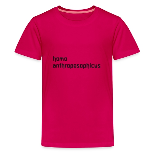 homo anthroposophicus - Teenager Premium T-Shirt