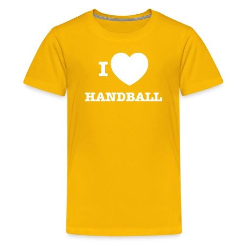 i love handball - Teenage Premium T-Shirt
