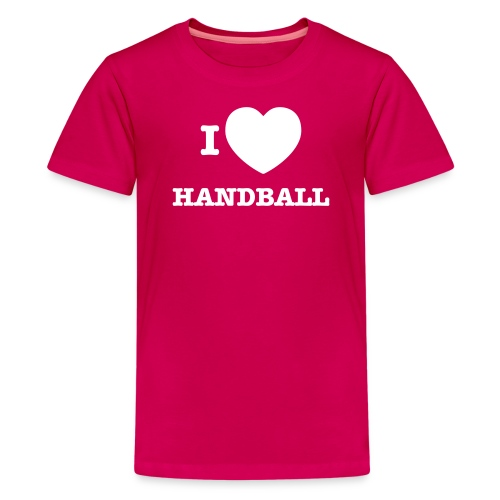 i love handball - Teenage Premium T-Shirt