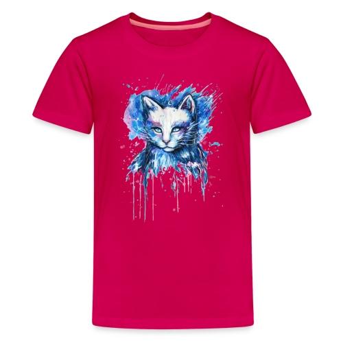 Gatito adorable - Camiseta premium adolescente