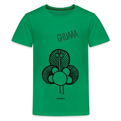 pavone - Maglietta Premium per ragazzi