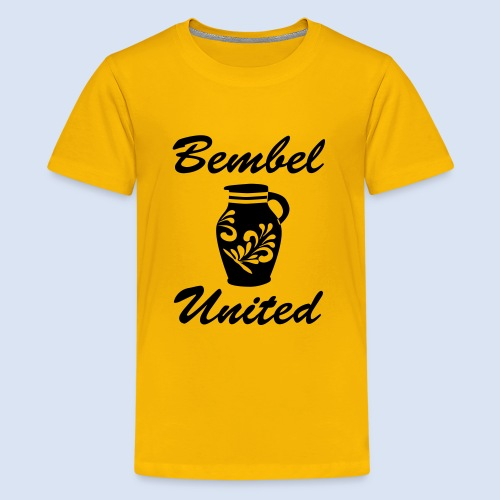 Bembel United Hessen - Teenager Premium T-Shirt